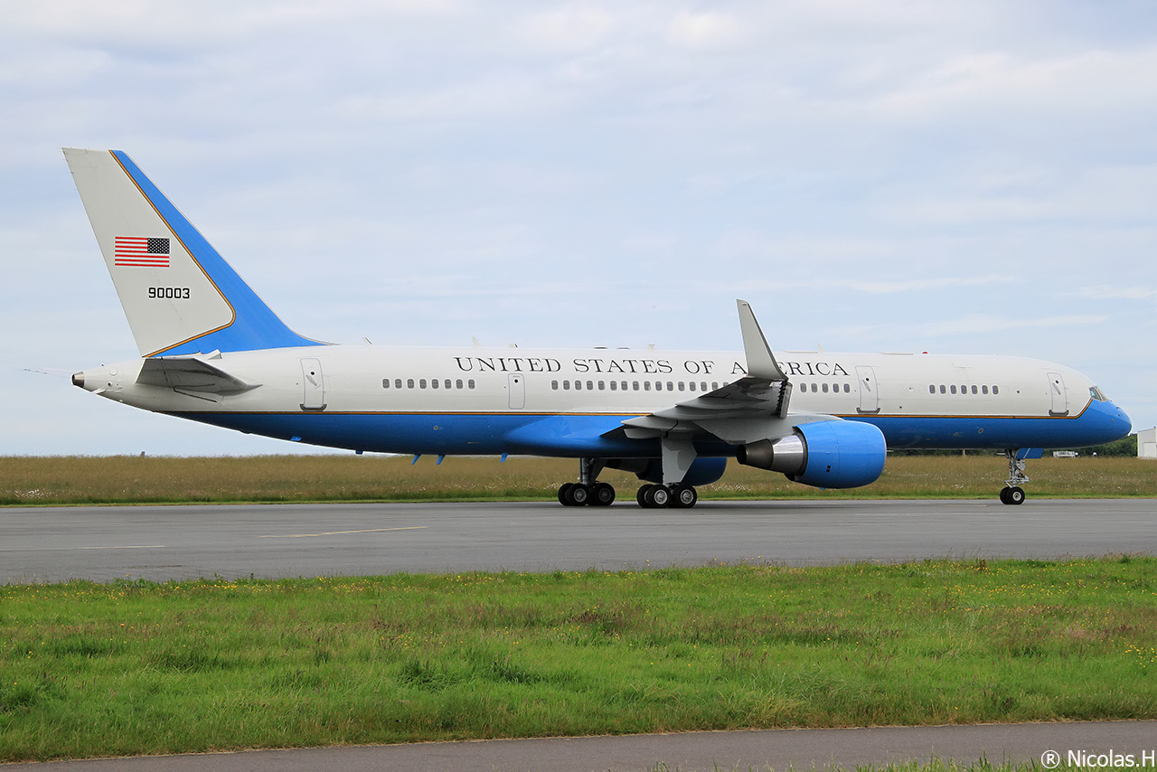 Boeing C-32A (757-200) 99-0003 United States of America le 09/06/2014 Img_0391-461a4c5