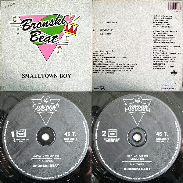 "Bronski Beat Smalltown Boy Single 12"" 1984 Flac Mmm-450f701"